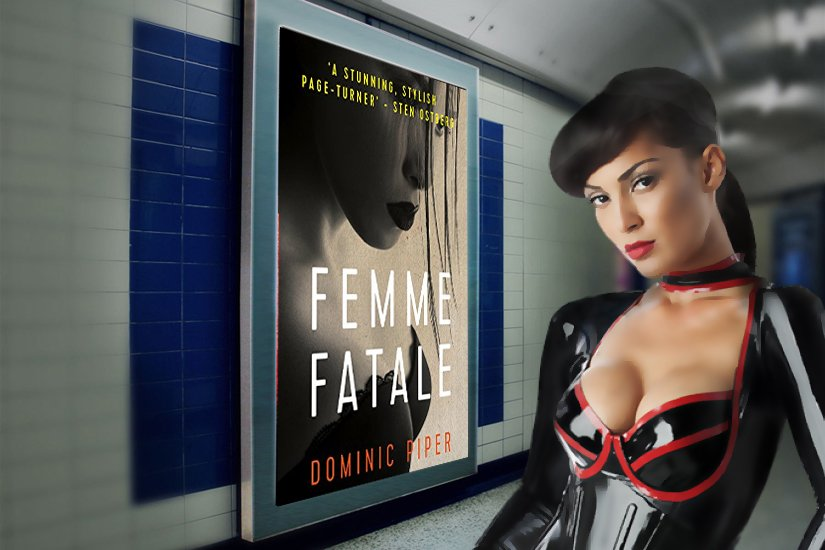 """Femme Fatale. Dominic Piper. """"Third book in this brilliant series. What's not to love about these books?""""  #MustRead #CrimeFiction #Thriller"""