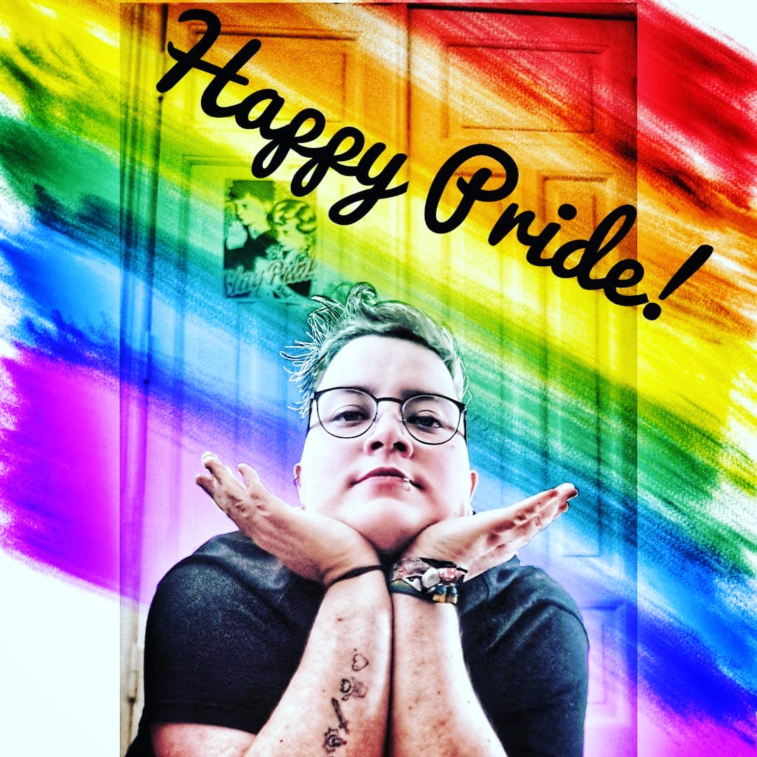 Today would've been Pride Parade in Kiel. Instead we are staying inside. And posting pride flags... but which one would represent me? #nonbinary? #bisexual? #genderqueer? #trans? I've gone with a rainbow flag.  #kiel #csdkiel2020 #pride #happypride