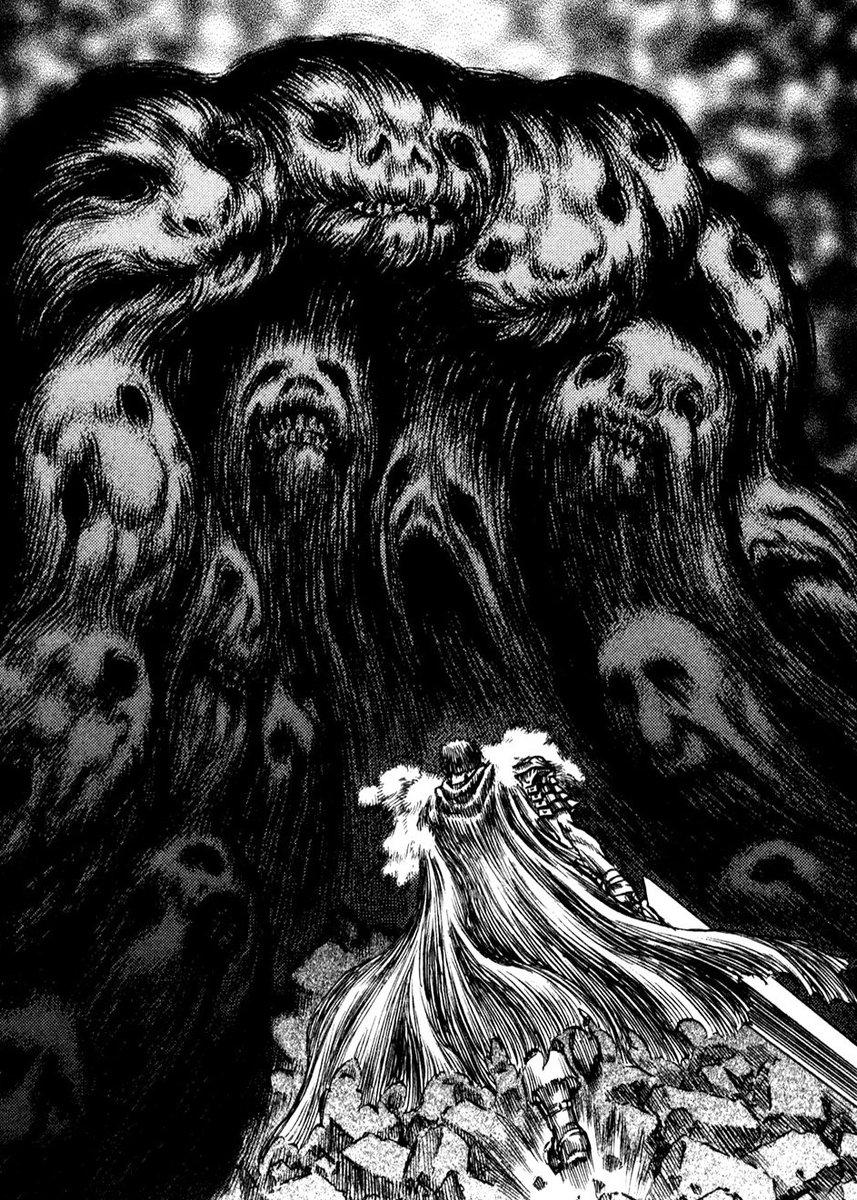 Kentaro Miura #HorrorArt #ghosts #fantasy #gothic #fantastic