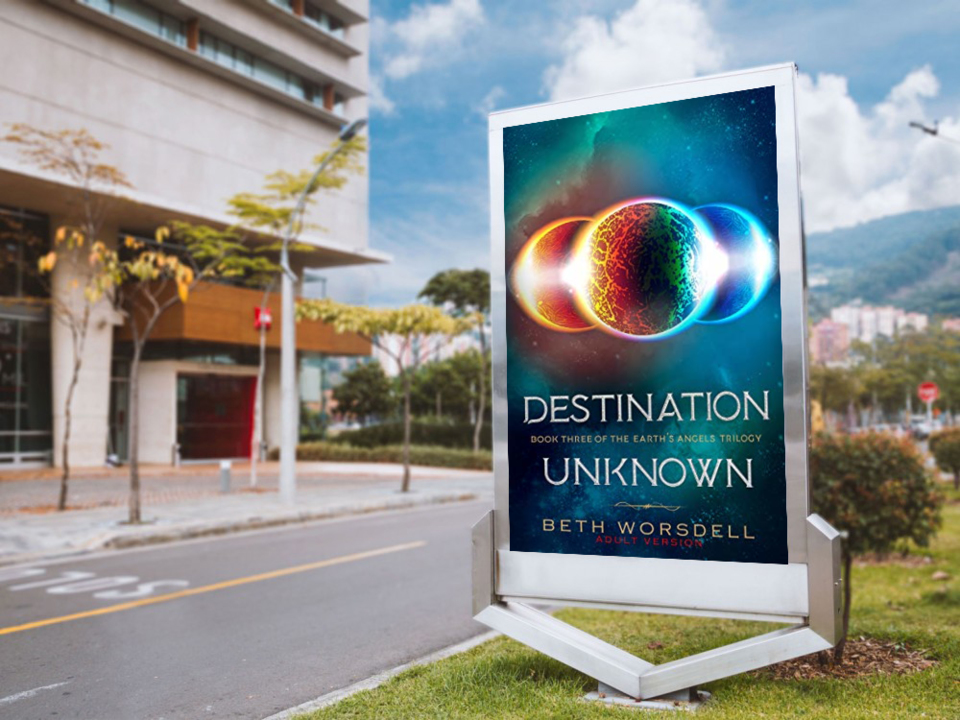 """What a wonderful story told by a wonderful storyteller! Grab a copy of """"Destination Unknown"""" now. #earth #trilogy #science #fiction #fantasy  @bethworsdell available at Amazon -->"""
