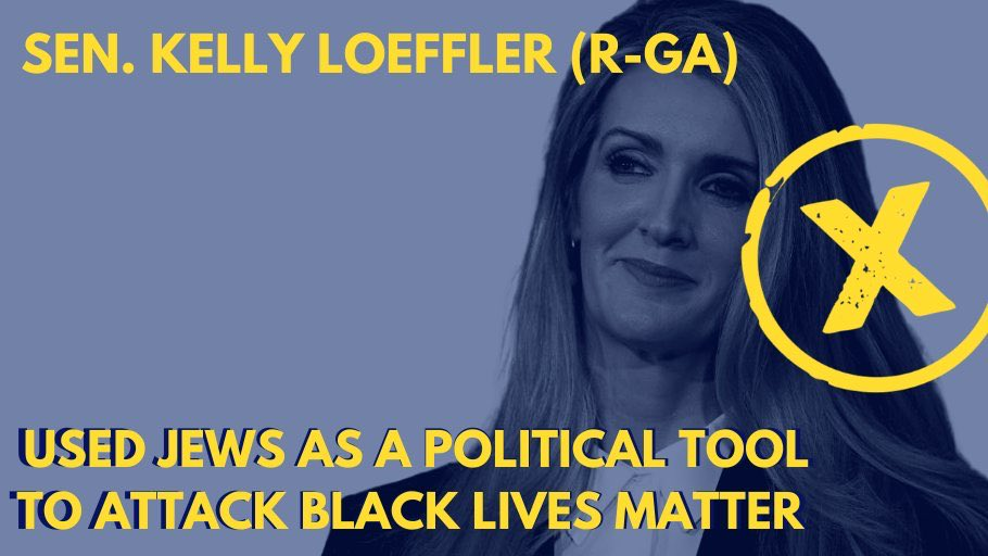 Dear @KLoeffler,  Using Jews as political tokens to make political points is antisemitic.   Love, Jews