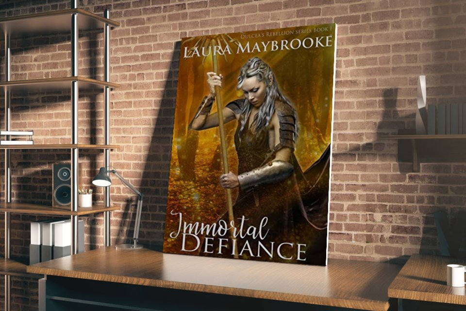 """Who could resist a handsome, charming vampire? Grab a copy of """"Immortal Defiance"""" now. #fantasy #vampire  @LMaybrooke available at Amazon -->"""