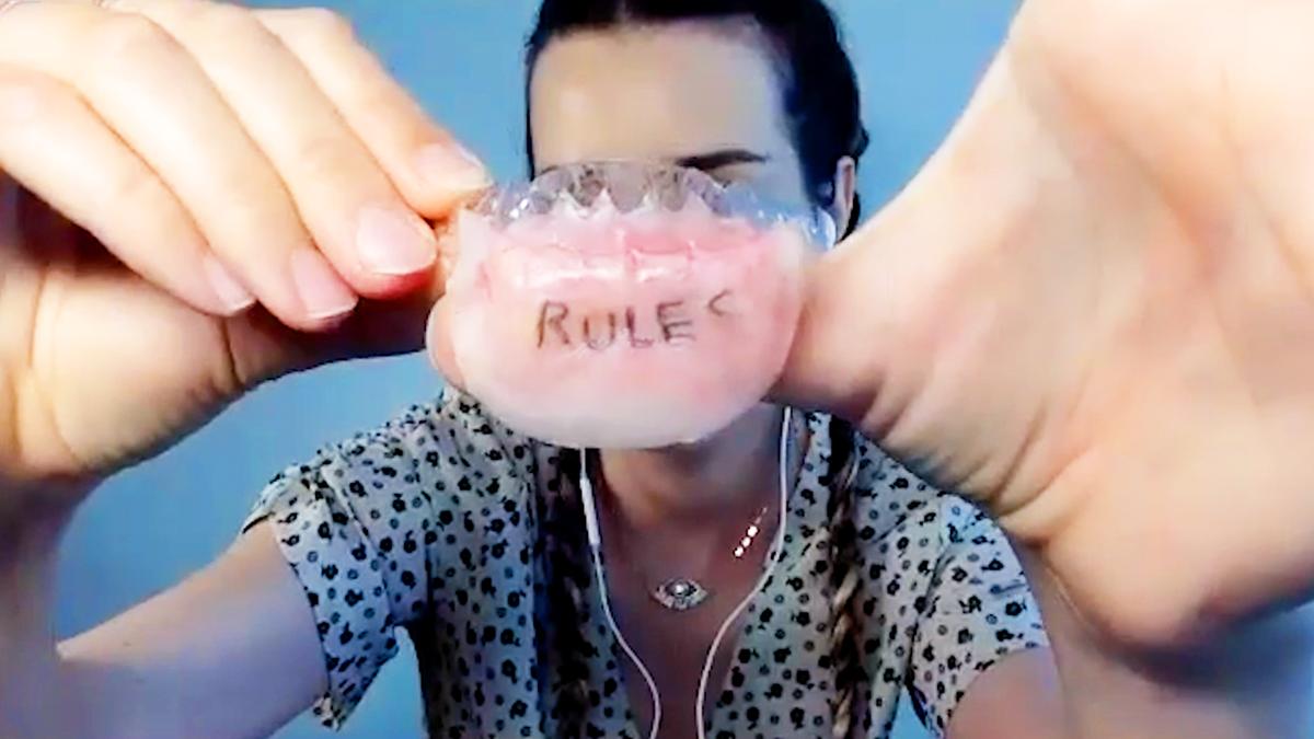 'Euphoria's' Head of Makeup Explains How She Created Those Lip Tattoos