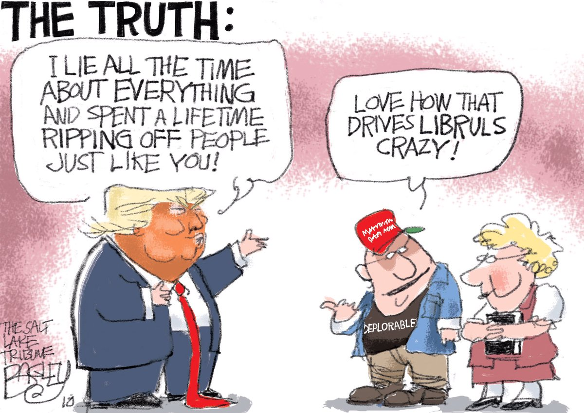 With Trump's base, it's never about his failures or crimes. It's always about imagined liberal conspiracies.  They're delusional. By default, Dems still have a foot in reality