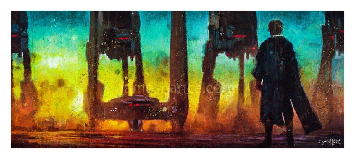 Luke (Crait)  (Acrylic / Color Pencil / Watercolor Paper)  Prints up on the site -   x