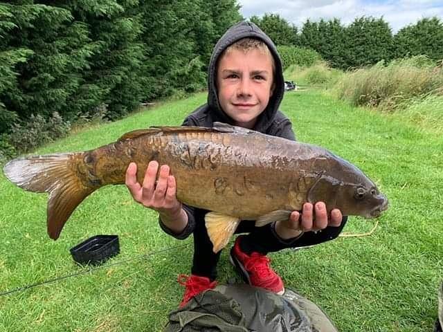 Boyd had a lovely day on Lake 2 last Sunday. He caught this  1<b>0lb</b>s 7oz #Carp!🐟 #fishing #c