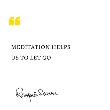The power of meditation helps to not just be obsessed about the circumstance but stay fixed on who you are.  #letgo #destress #release #relief #breathe #romapadaswami #motivationalspeaker #spiritualteacher #lifeteachings #quotestoinspire #lifequotes #goodquotes #selfdevelopment