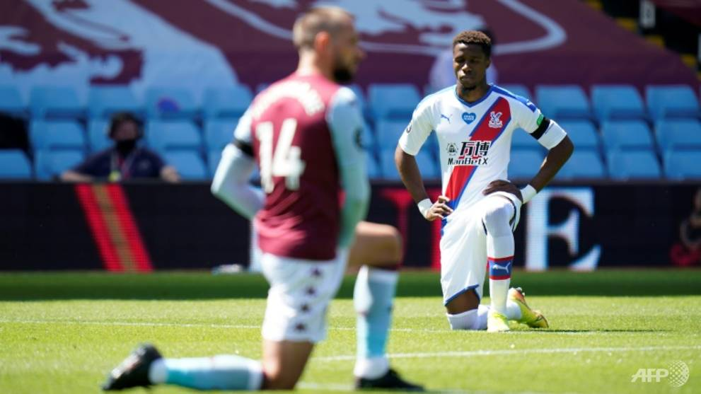 Football: Aston Villa to investigate racist abuse aimed at Zaha