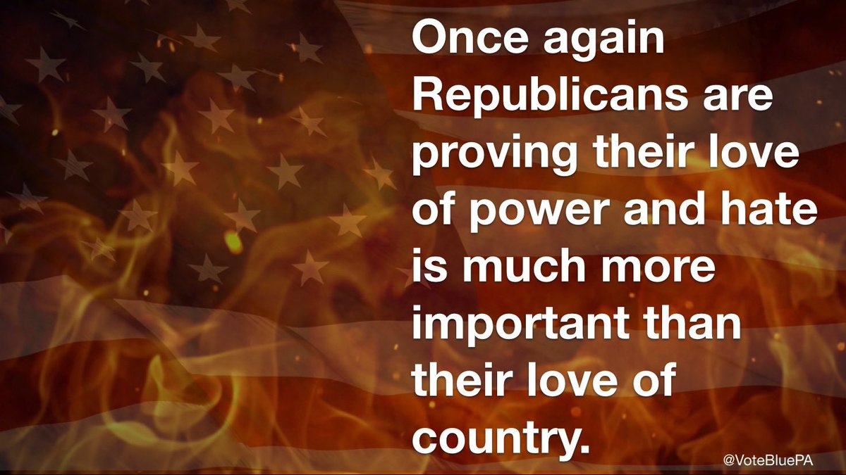 @MeidasTouch #PardonMeTrump - your enablers don't care about the country. Or you, really. They just want power.