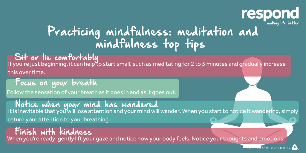 Today's theme for the final day of #HealthInformationWeek is #Wellbeing & #Mindfulness, so we wanted to re-share with you some top tips to get you started on how to use #Meditation as a tool to help relieve feelings of stress & anxiety.💚@Healthinfoweek #HIW2020 #MakingLifeBetter