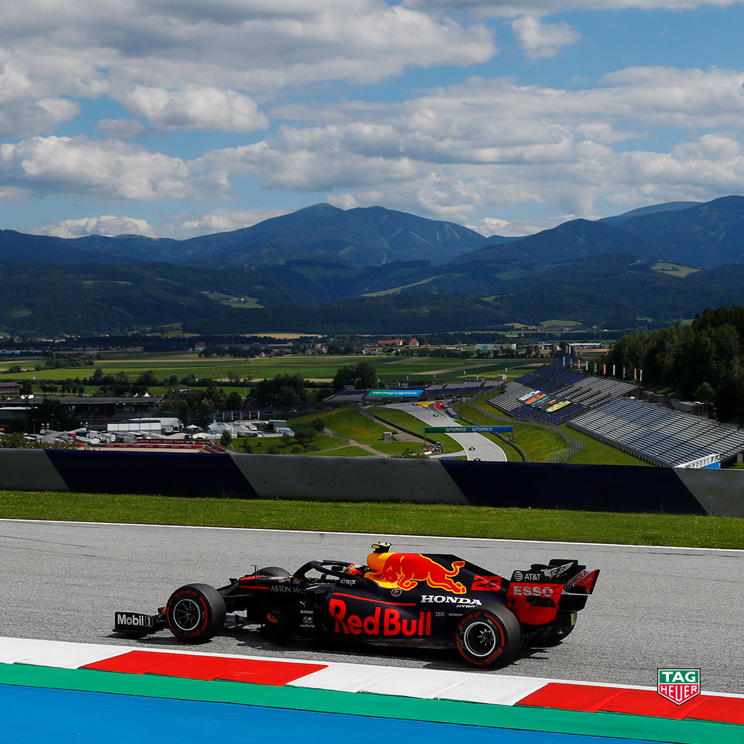 What an exciting race! Congratulations to Aston Martin @redbullracing driver @Max33Verstappen for an impressive 3rd place finish at the #AustrianGP this weekend! Always a pleasure to watch on the track.  #DontCrackUnderPressure