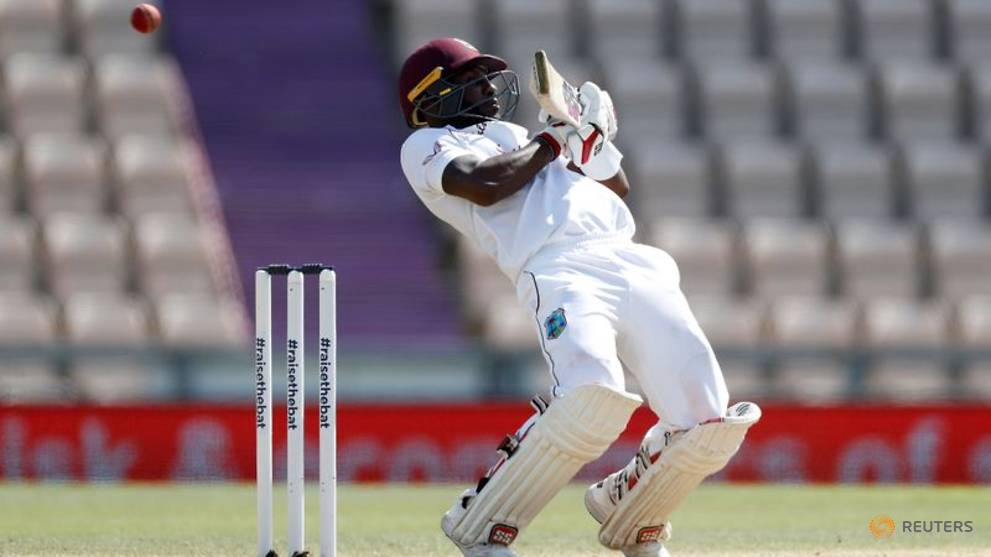 Cricket: Blackwood shines as West Indies close on test victory