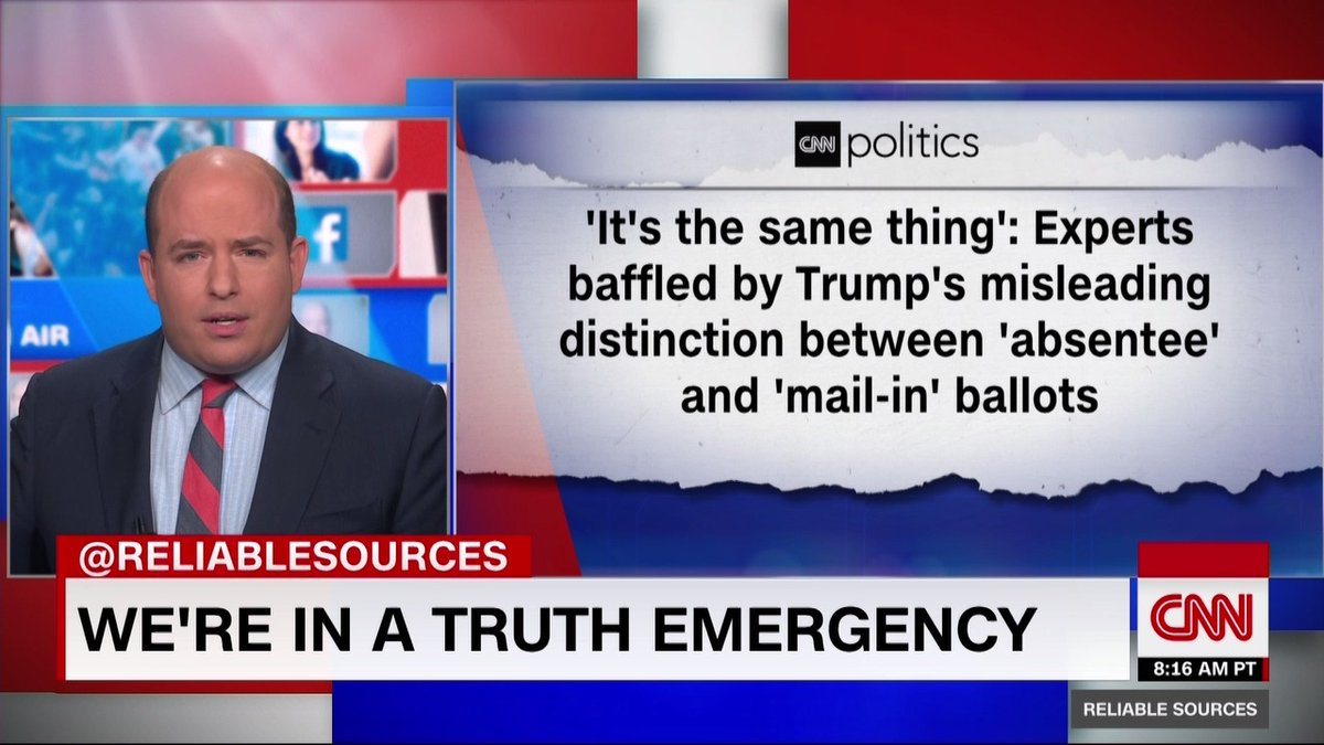 We are in a truth emergency.