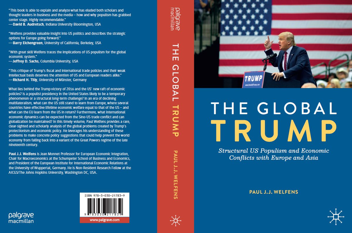 @BillKristol .@BillKristol difficult situation in the US - #GOP is responsible for the extreme #Trumpism. President #Trump is often unprofessional, his economic policy is quite inconsistent and undermines stability in the US and worldwide. His #WhiteHouse #apprenticeship clearly has failed