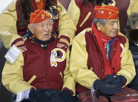The Washington Redskins name was so offensive that they were the favorite team of a lot of Native American tribe leaders.