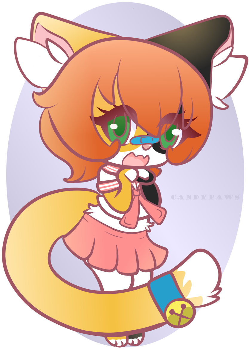 Punch! Attack via #artfight2020 for @CalpicoCalico ! She's such an adorable kitty! <3 couldn't resist drawing her! #teamspice #furry #furryart