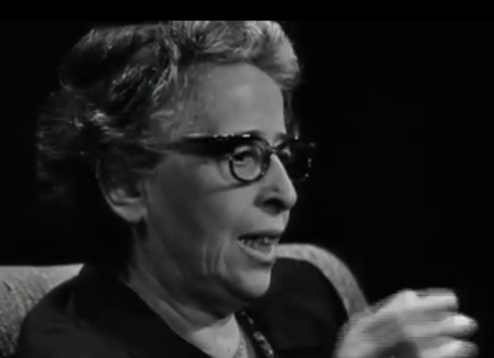 """""""A people that no longer can believe anything cannot make up its mind. It is deprived not only of its capacity to act but also of its capacity to think and to judge. And with such a people you can then do what you please.""""  Hannah Arendt"""