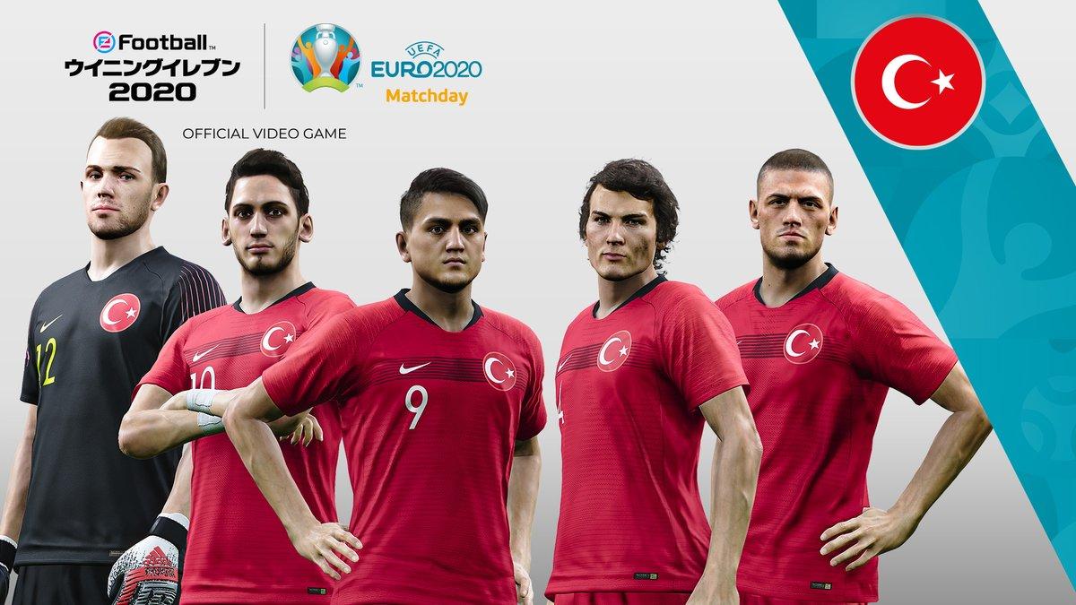 test ツイッターメディア - UEFA EURO 2020™ Matchdayのグループステージが遂に開催!🎊  初日は以下のチームが対戦!🔥  トルコ V イタリア ウェールズ V スイス デンマーク V フィンランド  プリセットチームを使用するナショナルチームの威信をかけた戦いに、今すぐ参加しよう!!⚽  #ウイイレ #ウイイレアプリ https://t.co/b1hJHRwvU2