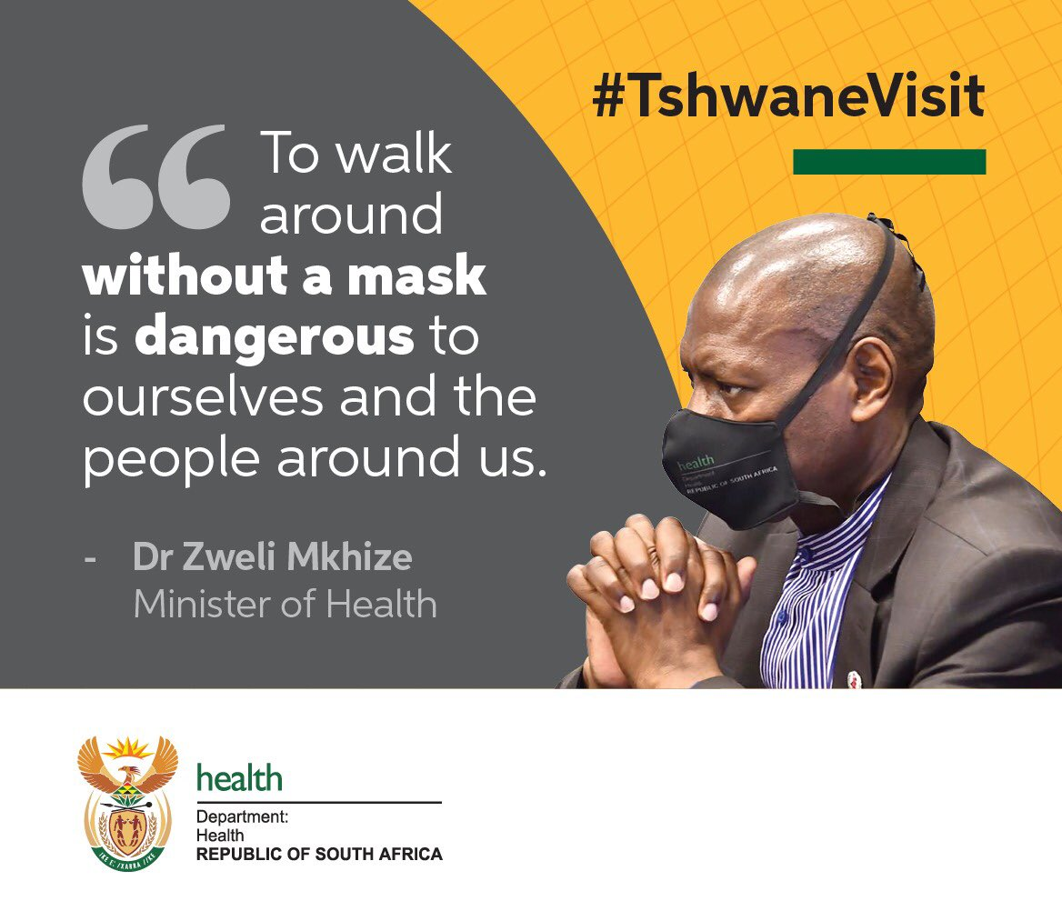 It is now compulsory to wear a mask in public. Protect yourself and those around you. #NewNormal