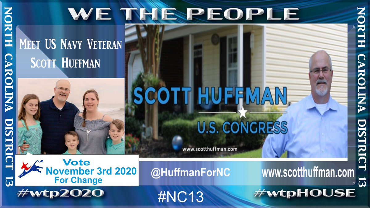 While Rep.Budd is making ads on how state leaders with autonomous zones should be sued.  N.C.= 0 autonomous zones    Scott Huffman's focus is children in #NC13  returning to school safely with the WH administration not following CDC guidelines.  Support @HuffmanForNC  #wtpHouse