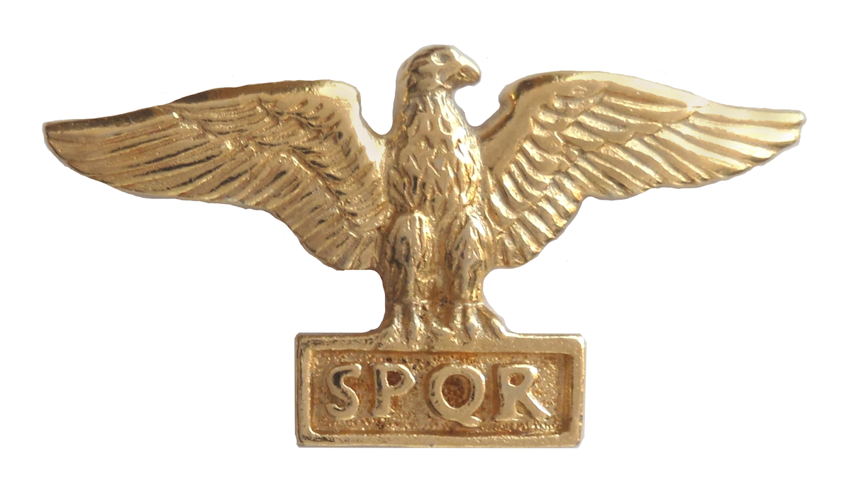 You know who else liked eagles? Slave-owning Romans