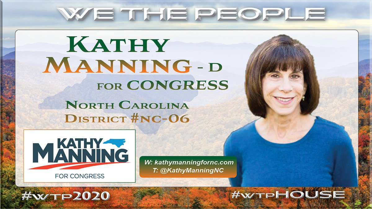 As a community and nonprofit leader for 30 years Kathy Manning worked to provide :  ♦️job retraining  ♦️mortgage assistance  ♦️ensure school readiness programs for underprivileged children  ♦️make college more affordable   Follow & Support   @KathyManningNC #NC06  #wtpHouse
