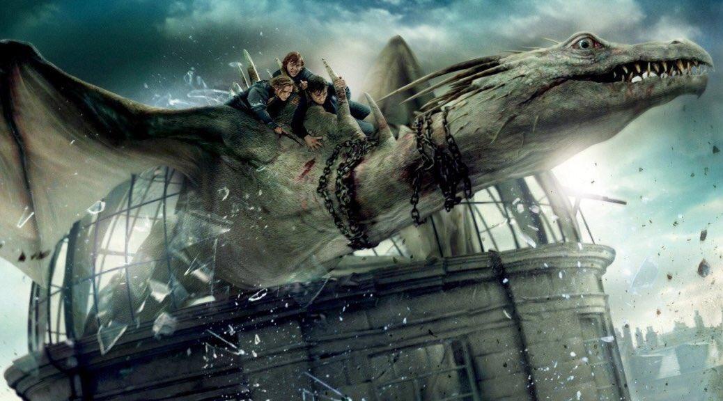 'No hay lugar más seguro que Gringotts, excepto tal vez Hogwarts'.