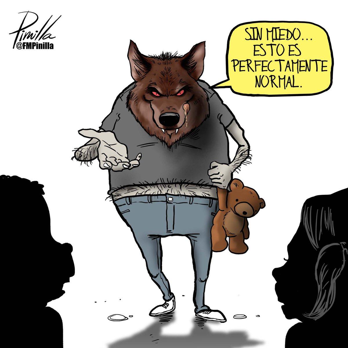 La #pedofilia y #pederastia no son conductas normales, sanas e inofensivas. ¡No aceptemos esta mentira! #dibujolibre para @DLasAmericas. #USA.