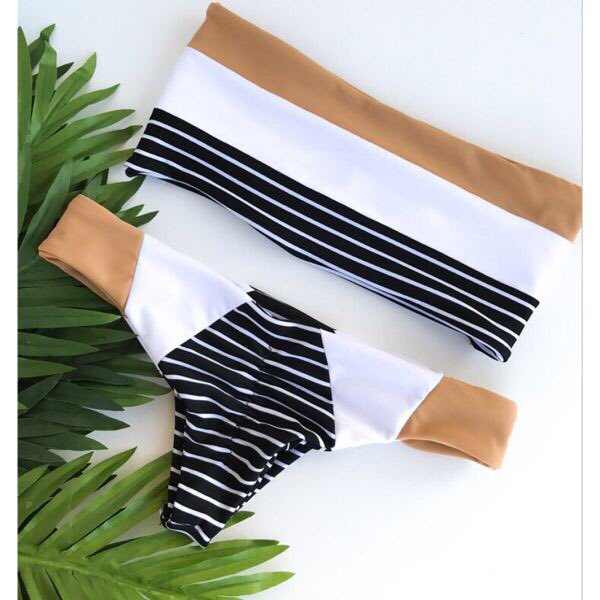 New fashion striped #bikini Is this your kind of #swimsuit? Let us know or tag a friend
