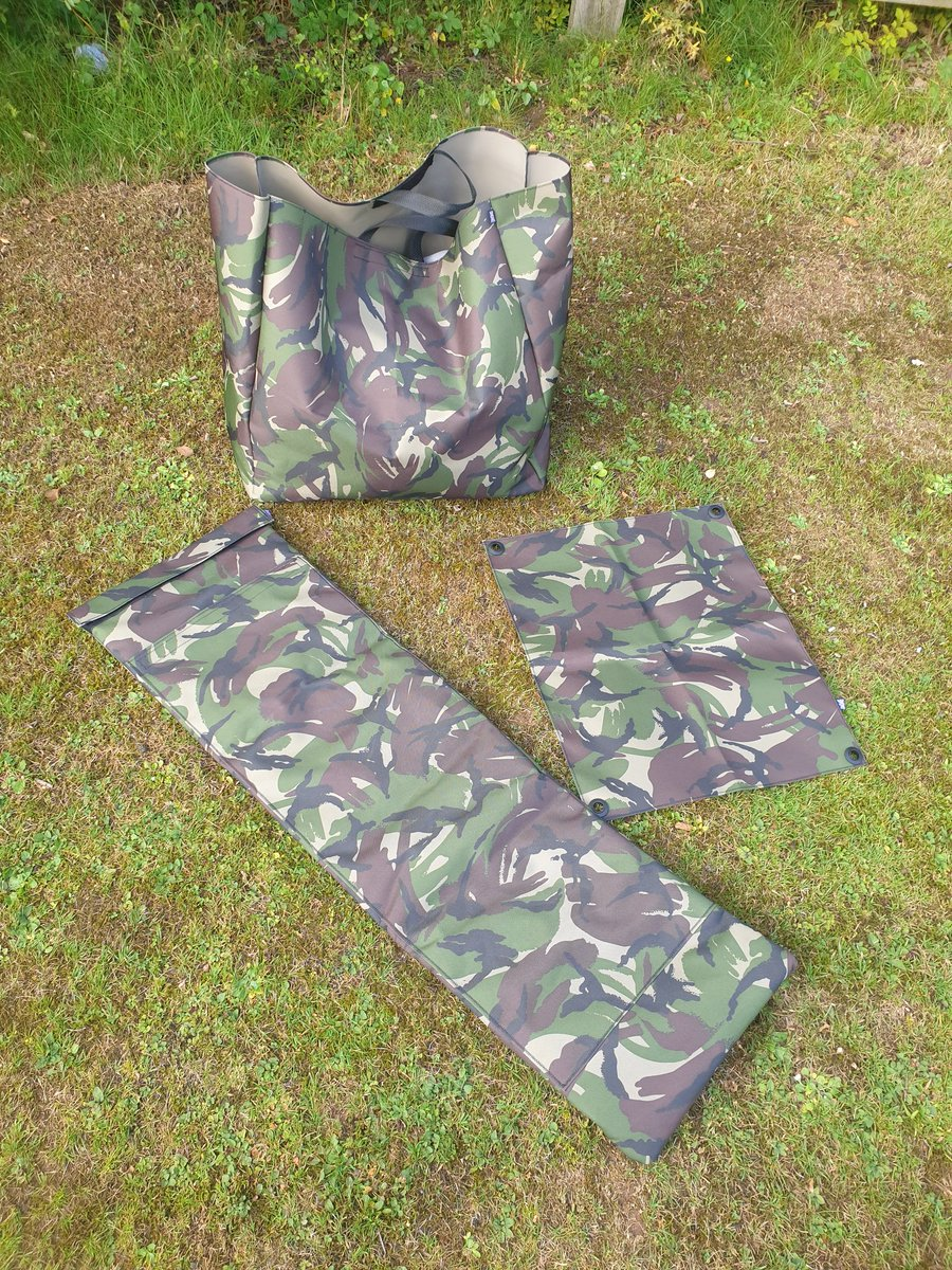 Some new custom made carping gear #camo<b>Carpy</b> #carpfishing https://t.co/LMzdTsZmTJ