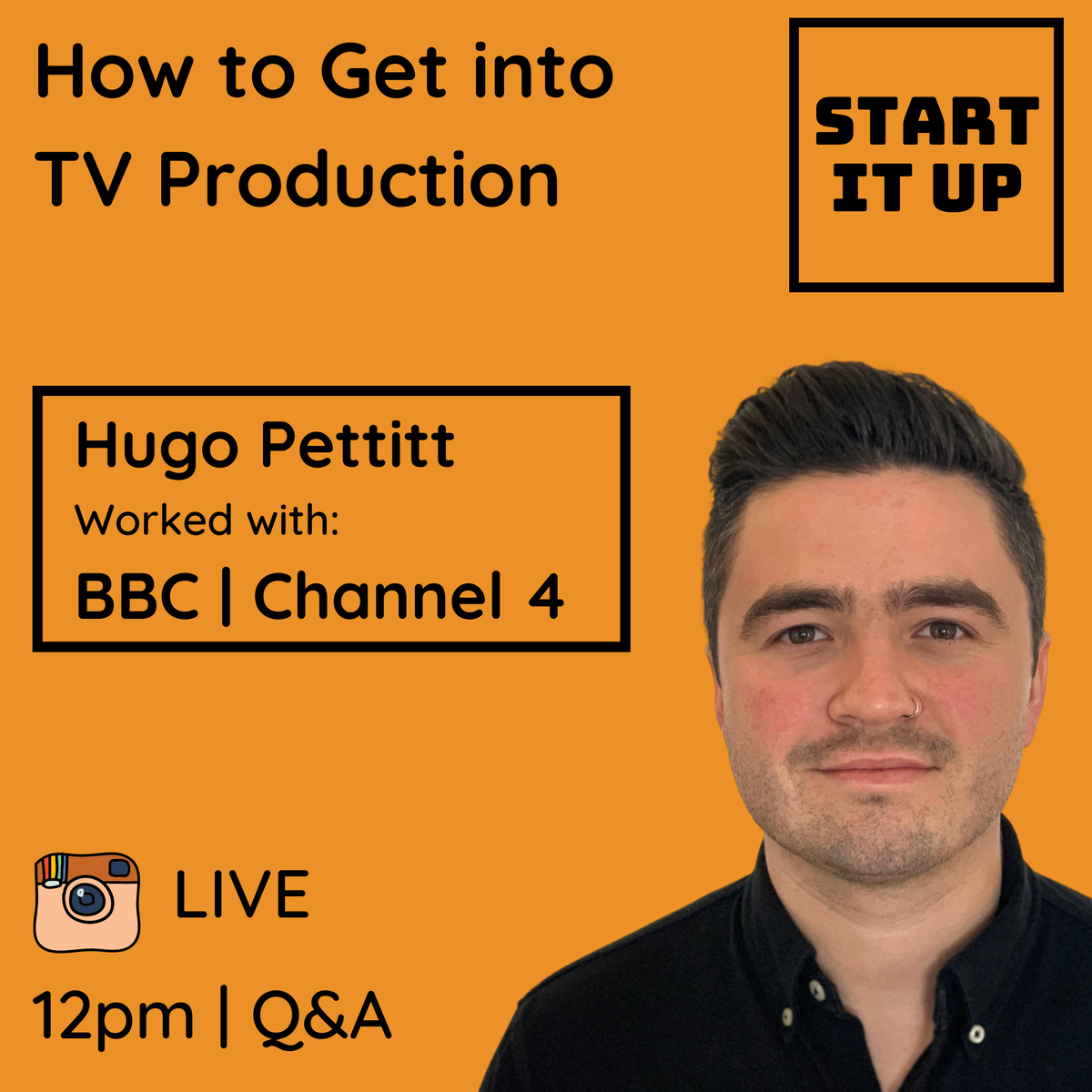 Love TV? Want to know how to make your favourite shows? We're just 15 MINUTES AWAY from a LIVE Q&A on 'How to Get into TV Production' TODAY at 12pm, with award-winning documentary producer, Hugo Pettitt!   Join us on Instagram LIVE! (@babbasahub)  #beyondcovid #emergestronger https://t.co/wBzgEbKifA