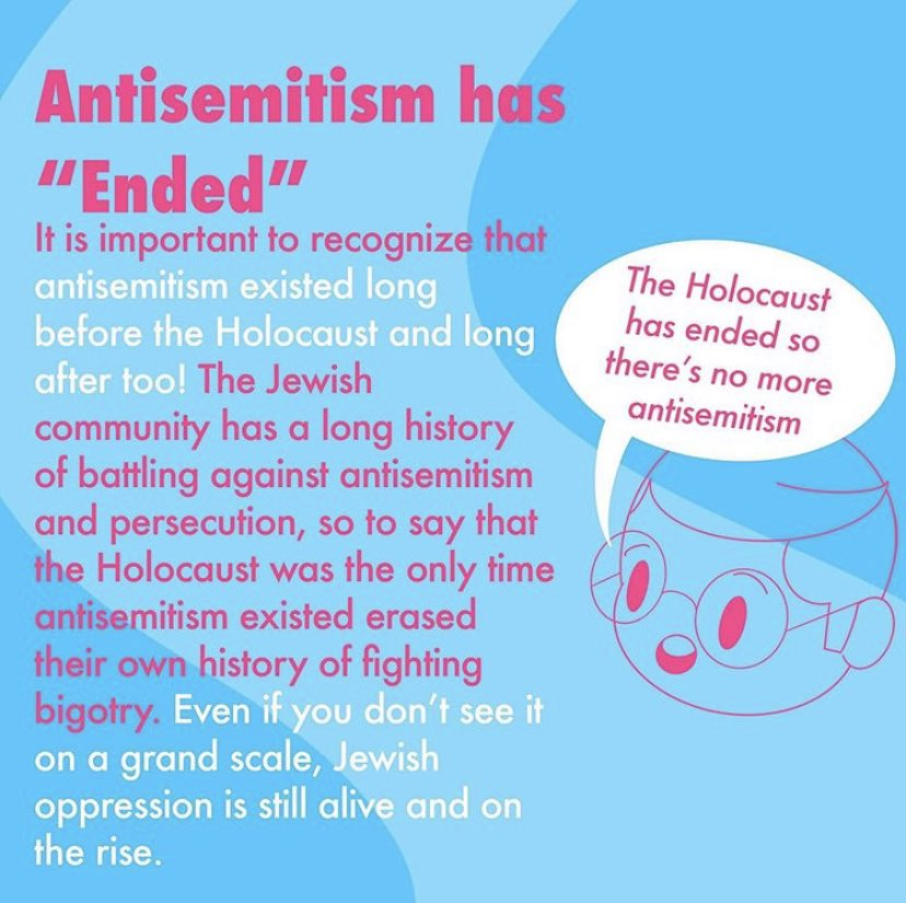 AN ALLY'S GUIDE TO ANTI-SEMITISM. We all need to educate ourselves. It's not up to the Jewish community to tell us.