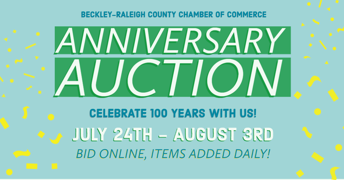 Have u placed your online bid yet? Many auction items are already on block, many more are being added. We're excited about many local businesses that have graciously entered items into the auction. place ur bid today   #BeckleyWV #OnlineAuction