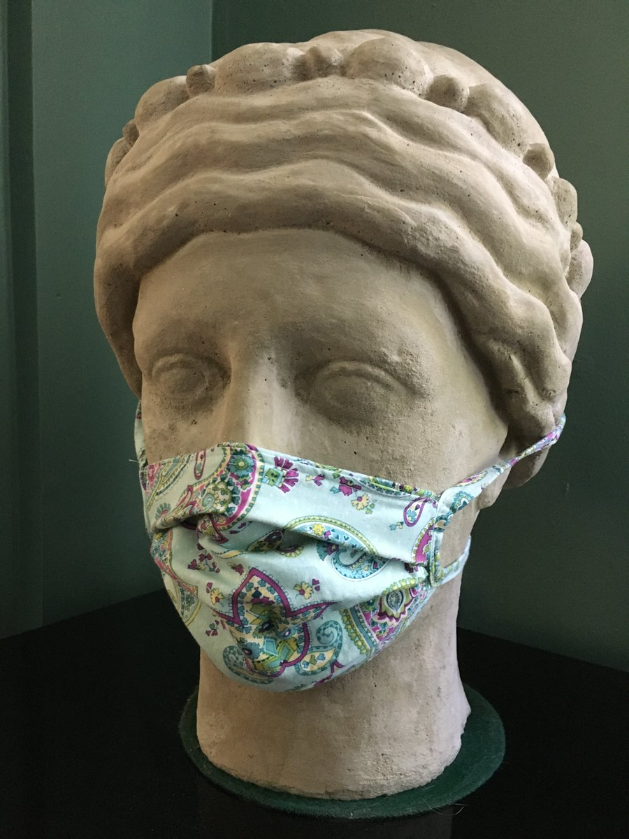 If Athena can wear a mask so can you! And now it's required in #Vermont following the mandate issued by  @GovPhilScott  So show your support for your fellow Vermonters and let's help get this pandemic behind us! Showing unity here in #Brattleboro #vt #lovebrattleborovt