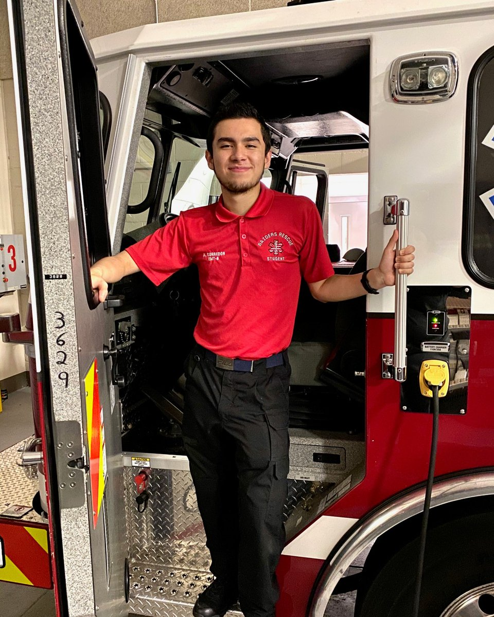 Congratulations to recent Shaw High graduate Alejandro Corredor. He is the first Rescue Raider program participant to pass the  National Registry of Emergency Medical Technicians (NREMT) exam. He is now a certified EMT! #mcsdwe #ctaeworks