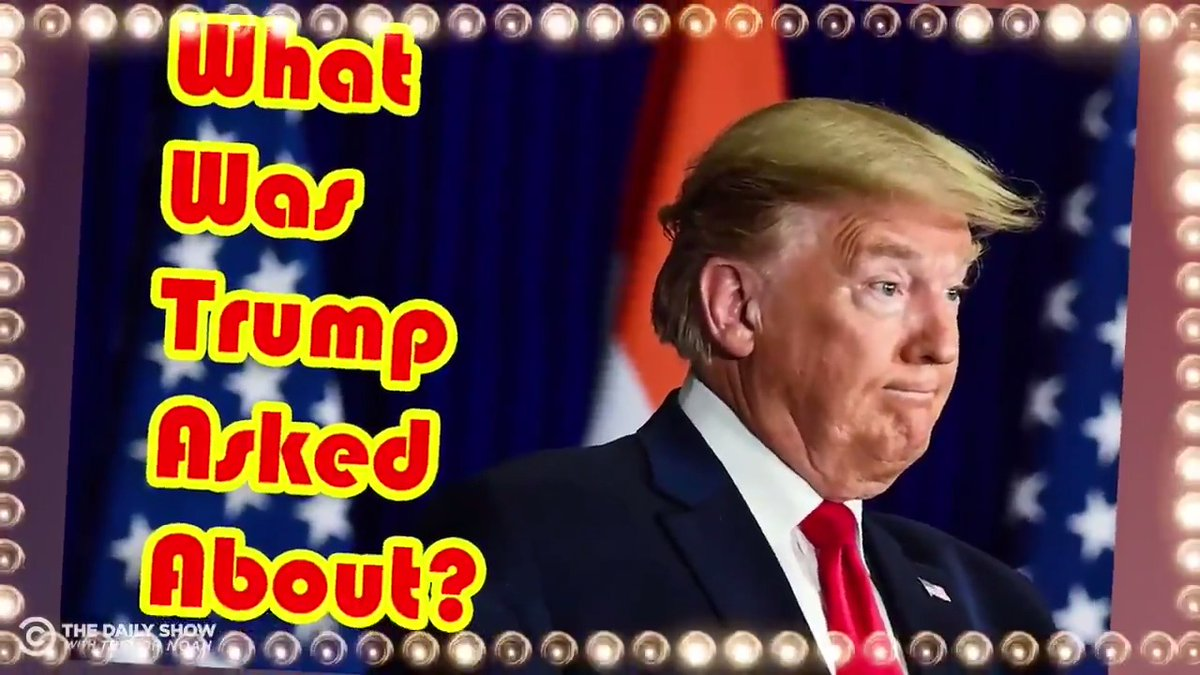 """Time for another round of """"What Was Trump Asked About""""!  We give you a Trump rant and you guess what he was asked about in the first place:"""
