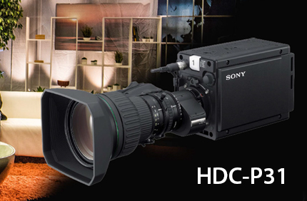 #Sony Announces HDC-P31, a Multi-Purpose Point of View System Camera with Enhanced Remote Features and Advanced HDR Workflows