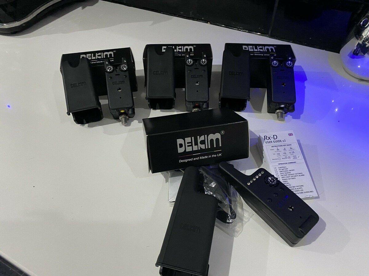 Ad - Delkim TXi-D bite alarms & Rx-D Receiver On eBay here -->> https://t.co/xPjAPdi9zs  #