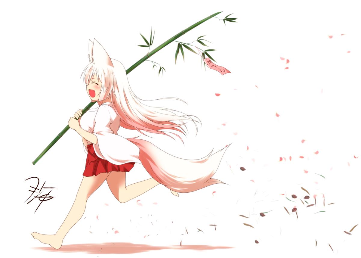 に れる 狐 摘ま