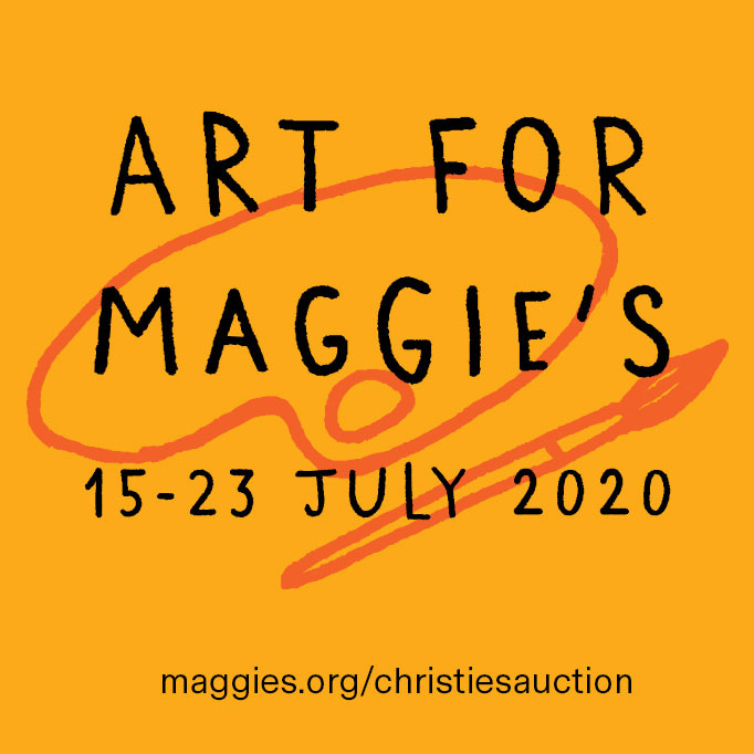 ICYMI, a rather glorious art auction at Christie's for Maggie's, who run some 20 cancer care centres across the UK.