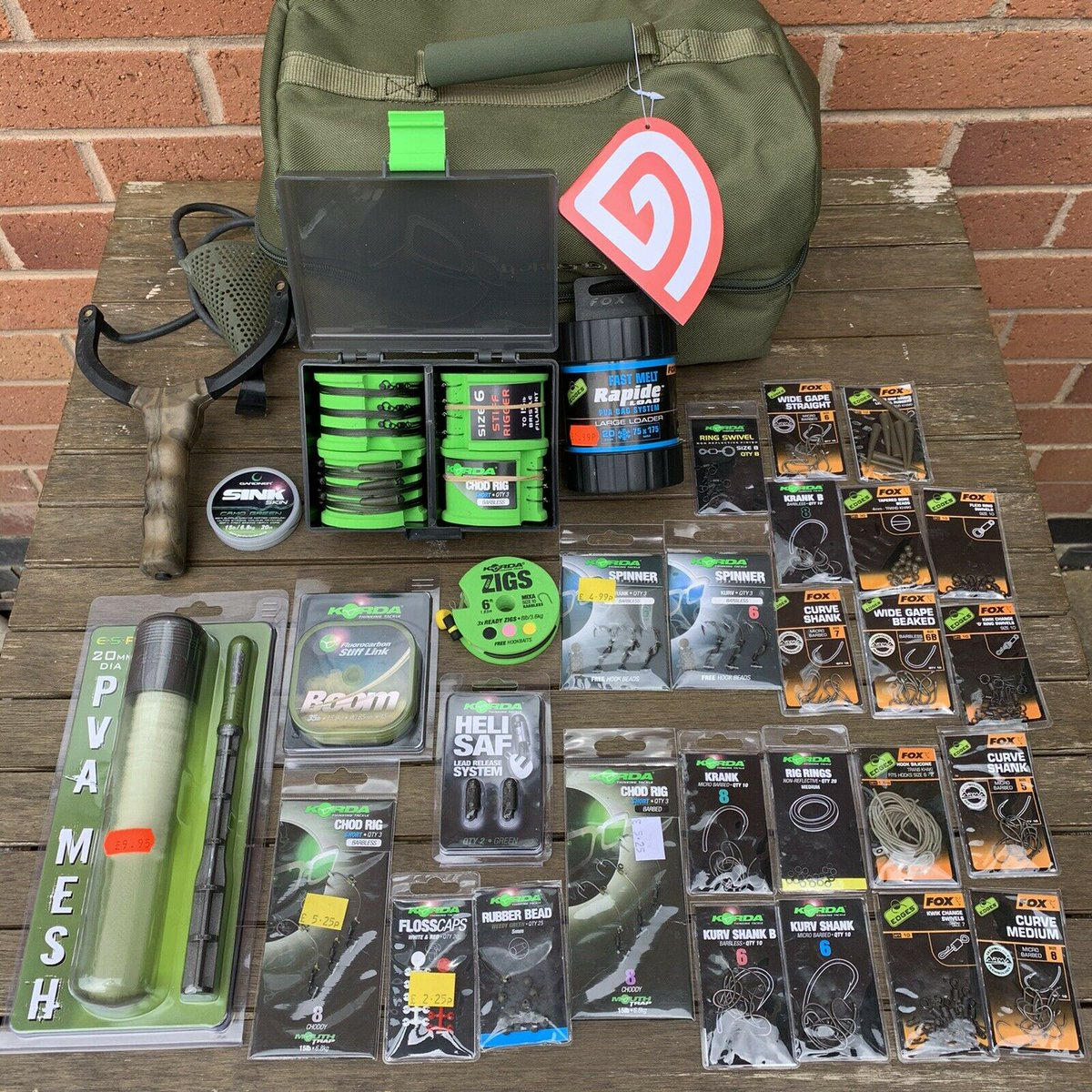 Ad - CARP TERMINAL FISHING TACKLE BUNDLE On eBay here -->> https://t.co/3XtlbcXgpK  #carpfishi