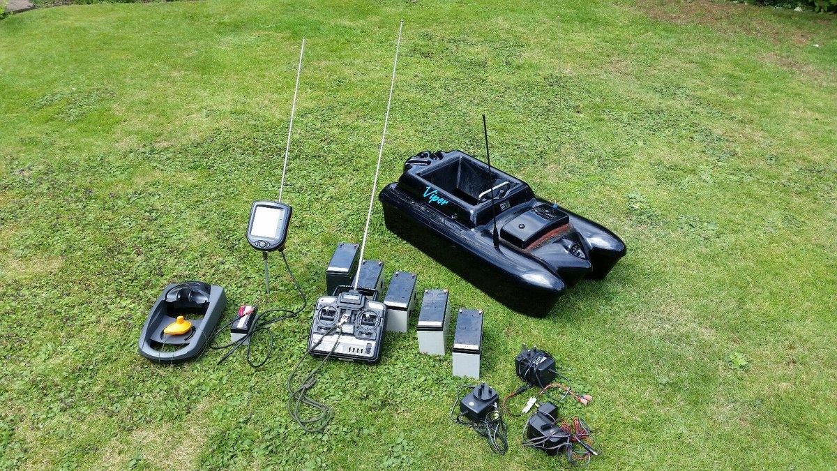 Ad - VIPER BAIT BOAT WITH ECHO / FISH FINDER On eBay here -->> https://t.co/pJFD7sTeM9  #carpf