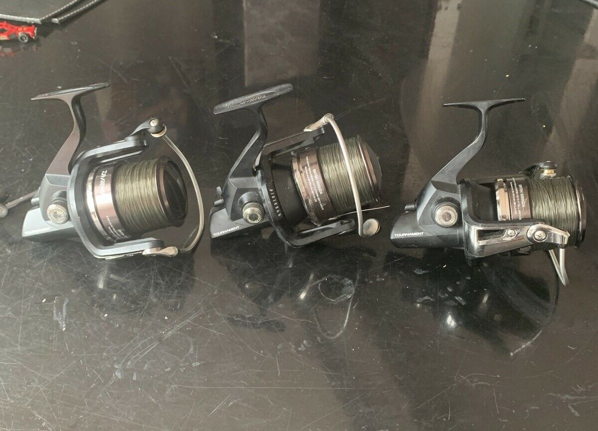 Ad - 3 X Daiwa Tournament Entoh 5000QDA With Spare Spools On eBay here -->> https://t.co/Oo21K