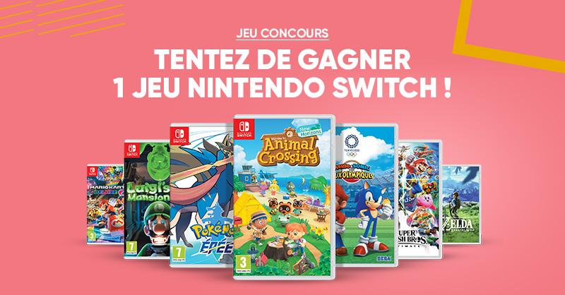 JEU CONCOURS 👾 | À tous les gamers, tentez de gagner un jeu Nintendo Switch avec @NintendoFrance 😍 Lequel vous ferait plaisir ? Pour participer: RT + Follow @Fnac 😏 Bonne chance 🤞