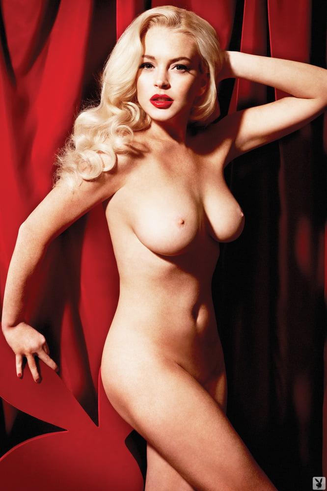 Lindsay Lohan - Playboy (2012)