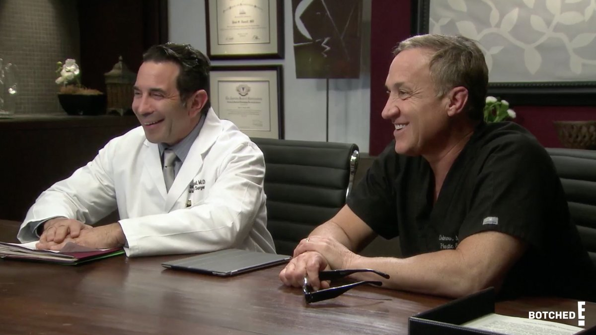 POV: You're a plastic surgeon and you get to work with your BFF who is also a plastic surgeon #Botched