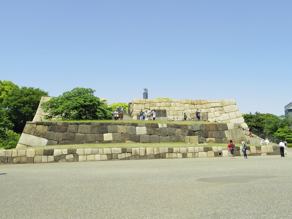 No.21 Edo-jo #castle Donjon Base 江戸城天守台  #tokyo