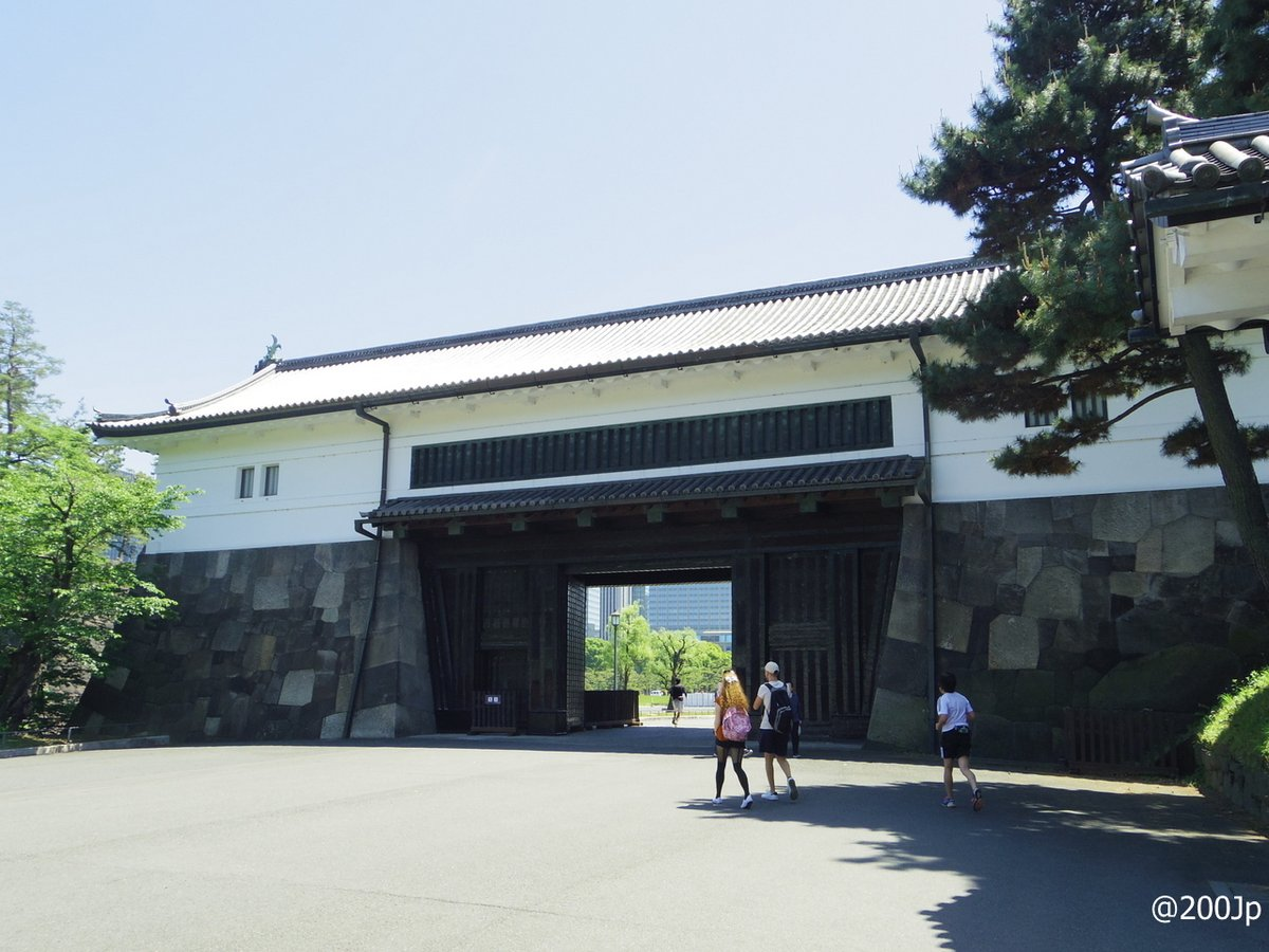 No.21 Edo-jo #castle Sakurada-Mon Gate Important Cultural Property 江戸城 桜田門 重要文化財  #tokyo
