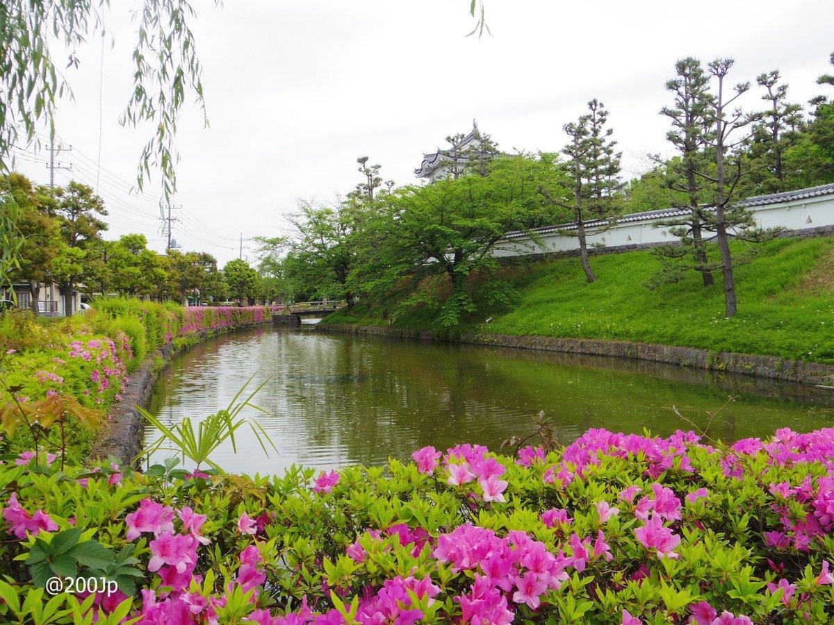 No.118 Oshi-jo #castle Go-Sankai-Yagura Wacthing Tower and Moat 忍城 御三階櫓と堀  #gyoda