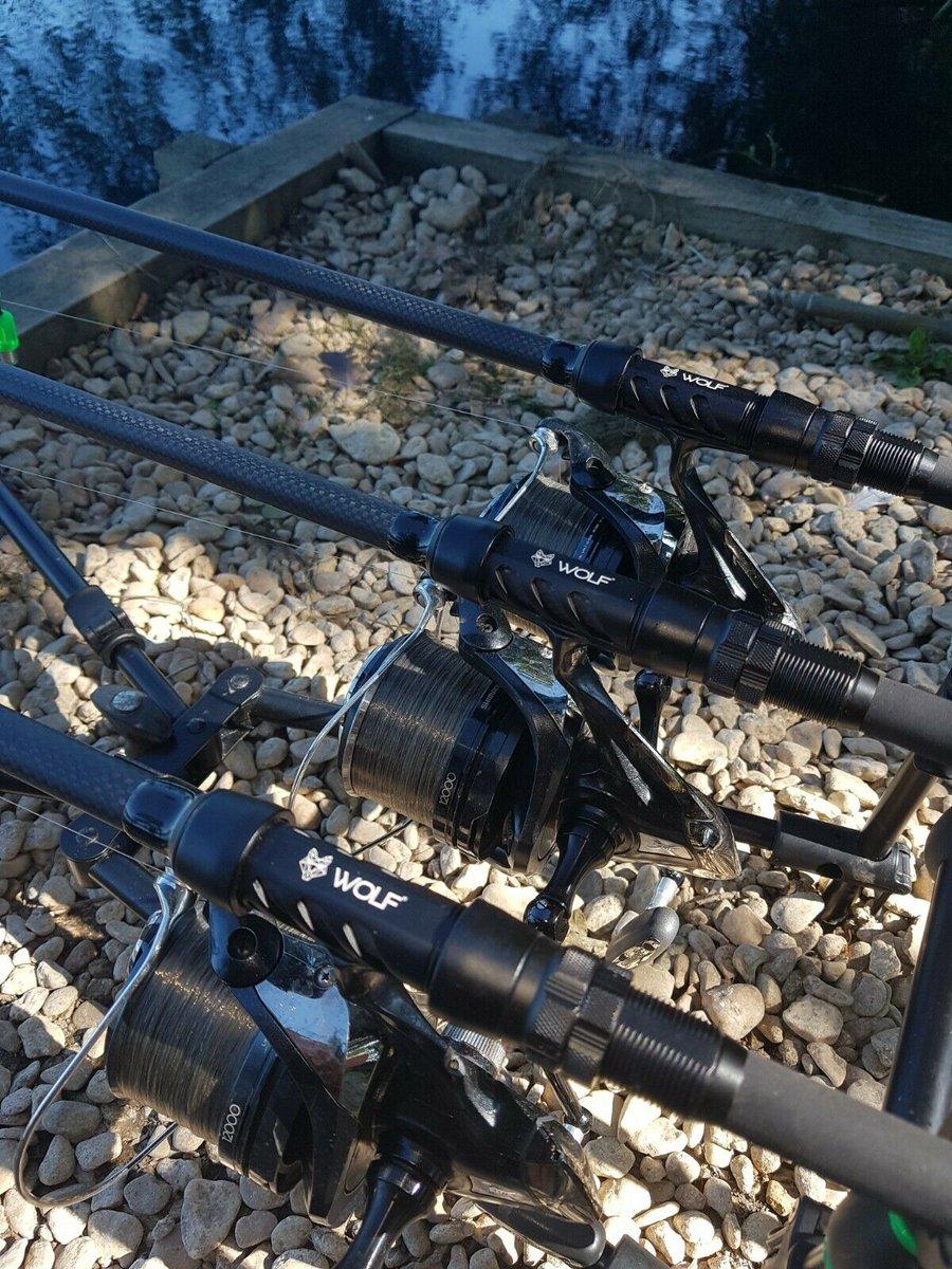 Ad - 3x 12ft Wolf X3k Carp Rods 3.5tc On eBay here -->> https://t.co/YRmvcoLMvp  #carpfishing